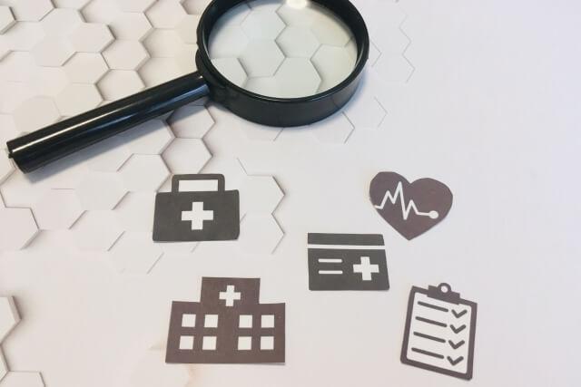 病院や医療を探しているイメージ